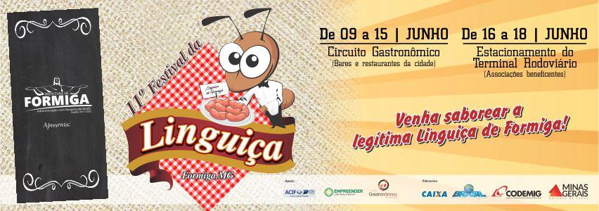 Festival da Linguiça de Formiga/MG 2017