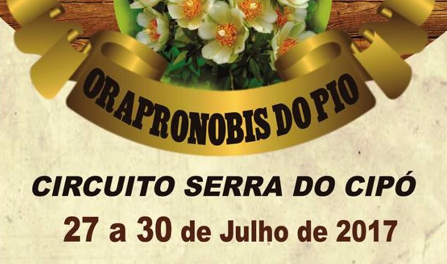 Festival Gastronômico de Ora-Pro-Nobis é atração na Serra do Cipó