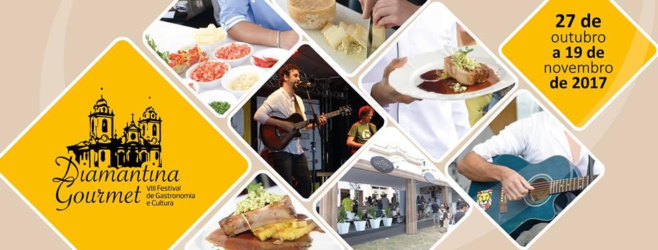 Diamantina recebe festival gastronômico em outubro
